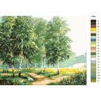 CZ 01882 Painting by numbers kit - Birch grove