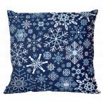W 10644-01 ONLINE pattern pdf - Pillow - Snowflakes