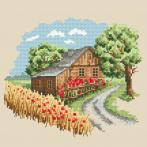 AN 10295 Tapestry aida - Seasons - Sunny summer