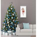 GC 10444 Graphic pattern - Christmas bird house