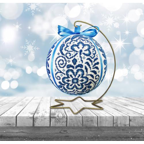 W 10640 Pattern ONLINE pdf - Porcelain Christmas ball