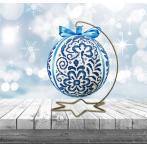 ZU 10640 Cross stitch kit - Porcelain Christmas ball