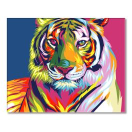 GX9203 Painting by numbers - Tiger pop art