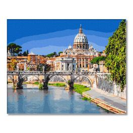 GX28759 Painting by numbers - St. Peter Basilica