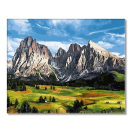 GX27769 Painting by numbers - Mountain pass