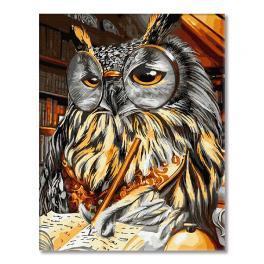 GX34283 Painting by numbers - Wisdom of the owl