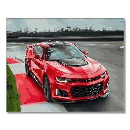 GX29403 Painting by numbers - Hot race - Chevrolet Camaro