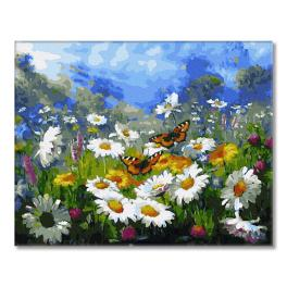 GX34089 Painting by numbers - Summer butterflies