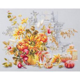 MN 120-012 Cross stitch kit - Autumn improvisation