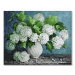 GX29093 Painting by numbers - Bouquet of white hydrangeas