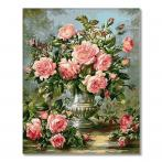 PC4050309 Painting by numbers - Bouquet of roses