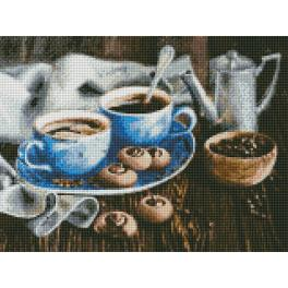AZ-1424 Diamond painting kit - Coffee romance