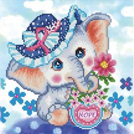 DD5.072 Diamond painting kit - Hope