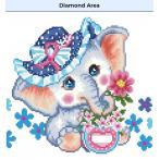 DD5.072 Diamond painting kit - Hope