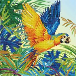 DD9.050 Diamond painting kit - Tropical majesty