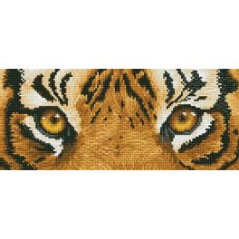 DD5.041 Diamond painting kit - Tiger spy