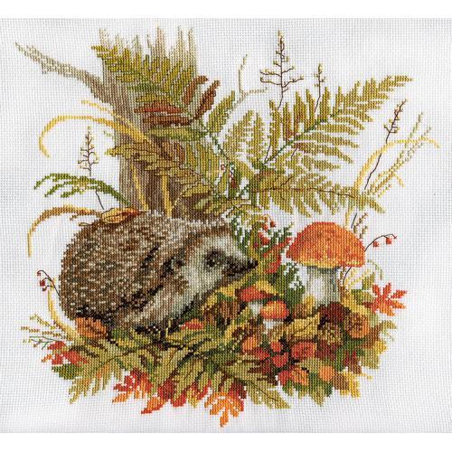 PAJ 1542 Cross stitch kit - Quiet forager