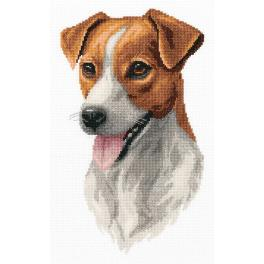PAJ 7148 Cross stitch kit - Jack Russell Terrier