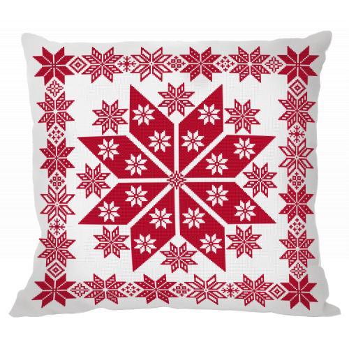W 10653 ONLINE pattern pdf - Norwegian pillow