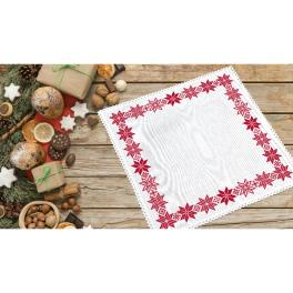 ZU 10652 Cross stitch kit - Norvegian napkin