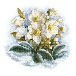 Z 10306 Cross stitch kit - Winter flower