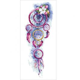 AN 10445 Tapestry aida - Romantic dream catcher