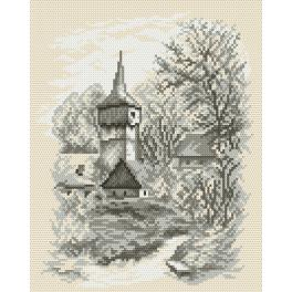 K 4035 Tapestry canvas - Little church