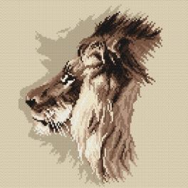 K 4036 Tapestry canvas - Leo - R. Friese