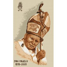 K 4038 Tapestry canvas - Pope John Paul II