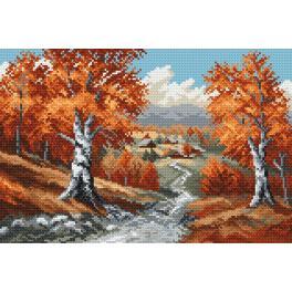 K 4018 Tapestry canvas - Autumn