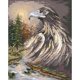 K 4508 Tapestry canvas - Eagle - B. Sikora