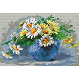 K 453 Tapestry canvas - Daisies