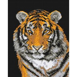 K 444 Tapestry canvas - Tiger