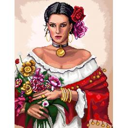 GC 7137 Cross stitch pattern - Gypsy