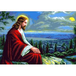 GC 7314 Cross stitch pattern - Jesus Christ