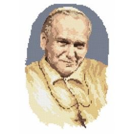 K 4037 Tapestry canvas - Pope John Paul II