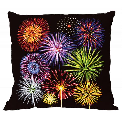 W 10659-01 ONLINE pattern pdf - Pillow - Magic of fireworks