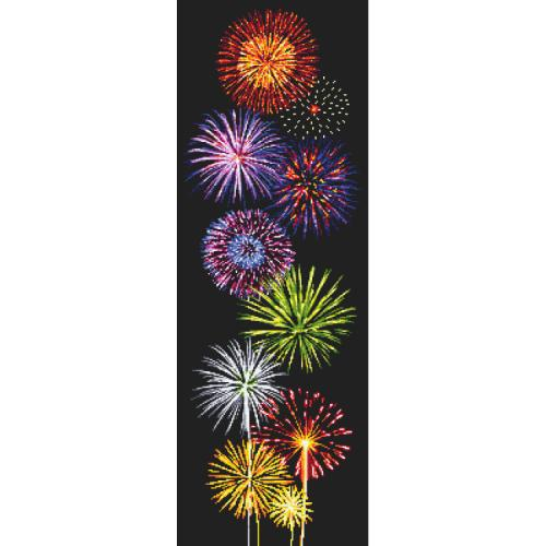 W 10658 ONLINE pattern pdf - Magic of fireworks