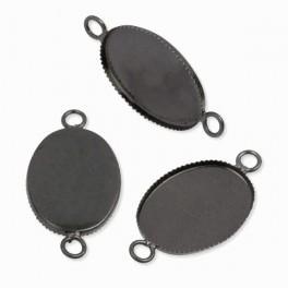Medallion base oval graphite