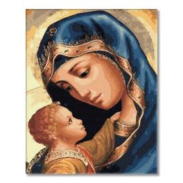 PC4050497 Painting by numbers - Virgin Mary and Jesus