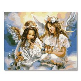 PC4050129 Painting by numbers - Two Angels