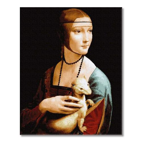 PC4050684 Painting by numbers - Lady with an Ermine. L. da Vinci