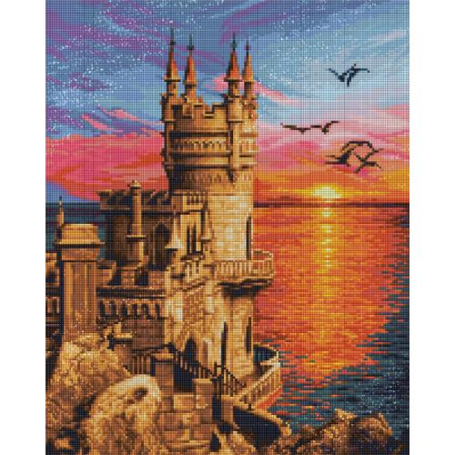 M AZ-1758 Diamond painting kit - Swallow's nest