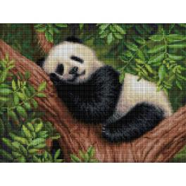 M AZ-1826 Diamond painting kit - Sleepy panda