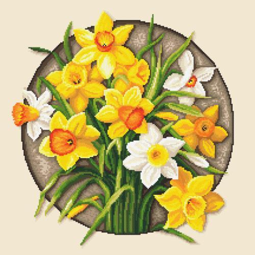 GC 10647 Cross stitch pattern - Narcissus
