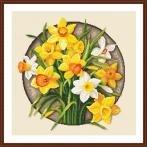 Z 10647 Cross stitch kit - Narcissus