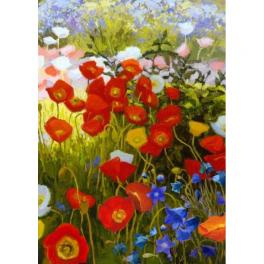 ZTDE 7109 Diamond painting kit - Floral carpet