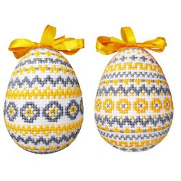 W 10668 ONLINE pattern pdf - Easter eggs with patterns