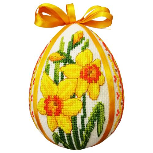 GU 10662 Cross stitch pattern - Easter egg with daffodils