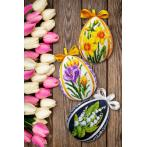 GU 10661 Cross stitch pattern - Easter egg with crocuses